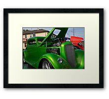 Antic Cars Framed Print
