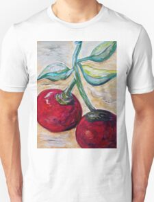 Cherries on White Chocolate T-Shirt