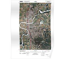 USGS Topo Map Washington State WA Mount Vernon 20110418 TM Poster