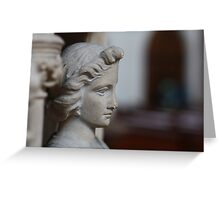 Pulpit Figure Greeting Card