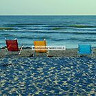 Sitting by the Seashore in Sanibel by Michiale