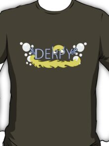 Derpy Typography T-Shirt