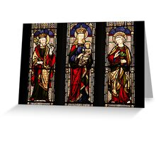 Lady Chapel Window Greeting Card
