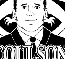 COULSON IS MY HOMEBOY! Sticker