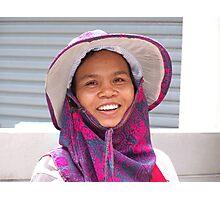 Thai Merchant Photographic Print