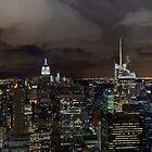 New York skyline at night by Gary Eason + Flight Artworks