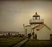 Point No Point Lighthouse by Lynnette Peizer