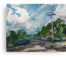 Hurst Lot I Canvas Print