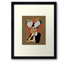 Chanel: the Little Black Bull Framed Print