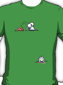 Samoyed Digging Deep T-Shirt