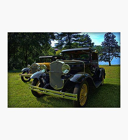 Antique Model A Fords Photographic Print