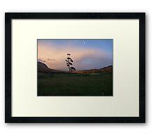 Early Morning,Mt Roland,Tas. Framed Print