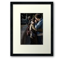 Amore mio II Framed Print