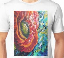 A Poppy Takes Center Stage Unisex T-Shirt