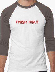 Finish Him! Men's Baseball ¾ T-Shirt
