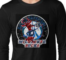 BUCKS BLACK Long Sleeve T-Shirt