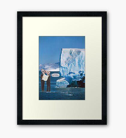 M Blackwell - Doomed... Framed Print
