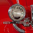 1930 Duesenberg Model J Disappearing - Top Convertible Taillight by Jill Reger