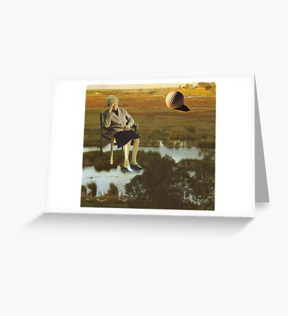 M Blackwell - The Despair That Only Enormous Golf Can Bring... Greeting Card