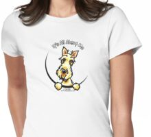 Wheaten Scottie :: It's All About Me Womens Fitted T-Shirt
