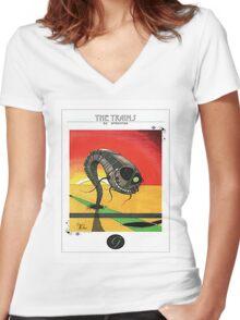 g train Women's Fitted V-Neck T-Shirt