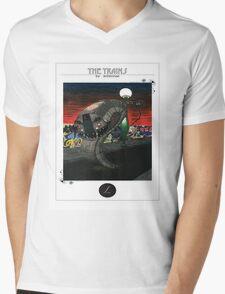 l train Mens V-Neck T-Shirt