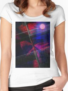 Caught In A Breeze Women's Fitted Scoop T-Shirt