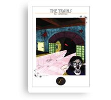 f train Canvas Print