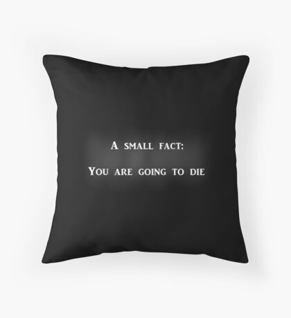 The Book Thief- A Small Fact Throw Pillow