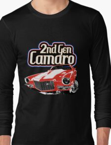 Second Generation Camaro Long Sleeve T-Shirt
