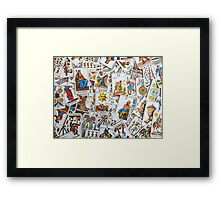 Tarot Cards Framed Print