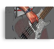 Guitars 2 Canvas Print