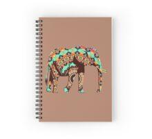 Walk Like an Elephant Spiral Notebook