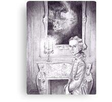 Rococo Vampire Canvas Print