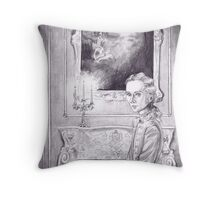 Rococo Vampire Throw Pillow