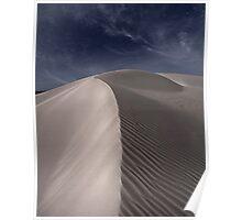Midnight Dunes Poster