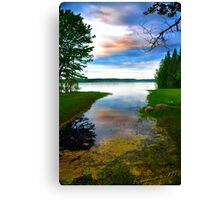 Lake Hinckley- In the lap of nature Canvas Print