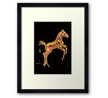 Foal 'Out and About' products Framed Print
