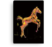 Foal 'Out and About' products Canvas Print