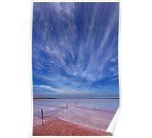 Skies above Fowlers Lake Poster