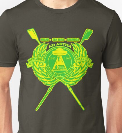 Bermuda Triangle Rowing Team Unisex T-Shirt