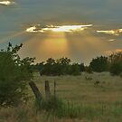 Sun Ray's Shining throught the Cloud's by ROBERTDBROZEK