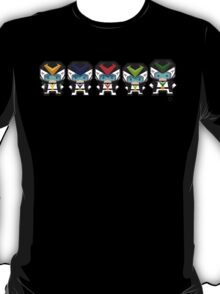 Mekkachibi Voltes Crew (Black Uniform) T-Shirt