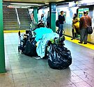 SUBWAY BENCH/BED by cammisacam