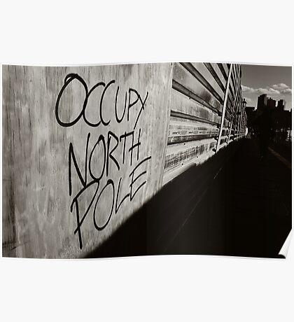 Occupy North Pole Poster