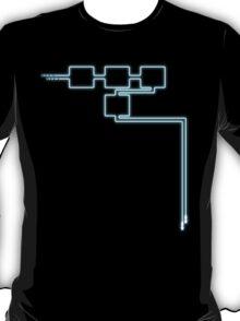 Light Tracing (W) T-Shirt