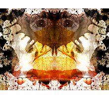 Rorschach ~ A Self Portrait Photographic Print