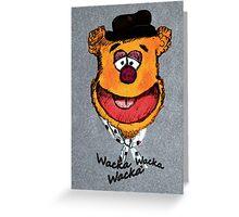 Wacka Wacka Wacka Greeting Card
