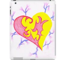 Two Parts One Heart iPad Case/Skin