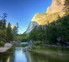 Reflecting Half-Dome - Yosemite N.P, California, USA by Sean Farrow